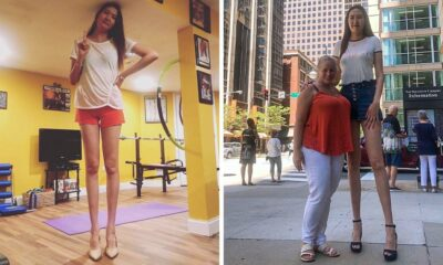 A Mongolian Girl Now Has the World's Second Longest Pair of Legs